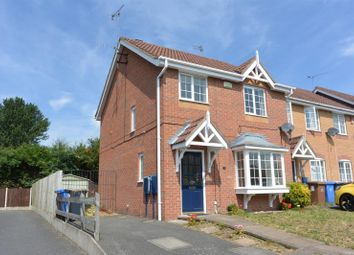 Thumbnail 3 bed semi-detached house to rent in Rossington Drive, Littleover, Derby