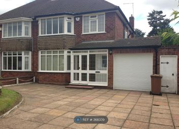 Thumbnail 3 bed semi-detached house to rent in Rushall Manor Road, Walsall