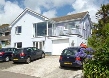 Thumbnail 4 bed detached house for sale in Prevenna Road, Mousehole, Penzance