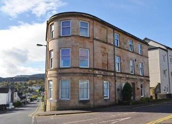 Thumbnail 2 bed flat for sale in Auchamore Road, Dunoon