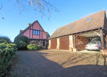 Thumbnail 4 bed detached house for sale in Martins Lane, Witcham, Ely