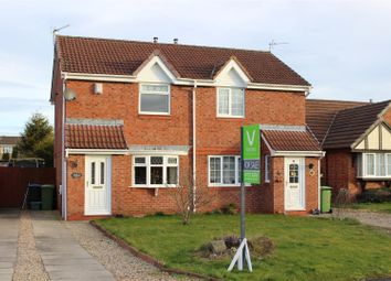 Thumbnail 2 bed semi-detached house for sale in Wilton Court, Newton Aycliffe