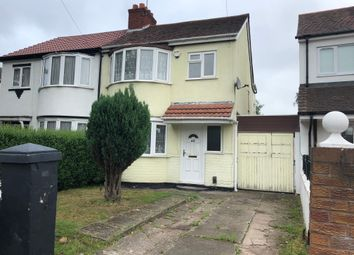 Thumbnail 3 bed semi-detached house to rent in Marsh Lane, Fordhouses, Wolverhampton
