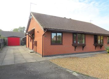 Thumbnail 2 bed semi-detached bungalow for sale in King Johns Road, Swineshead, Boston
