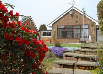 Thumbnail 2 bedroom detached bungalow for sale in Hawthorn Close, Chinley, High Peak