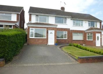 Thumbnail 3 bed semi-detached house for sale in Mount Nod Way, Coventry, West Midlands