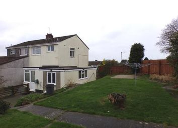 Thumbnail 3 bed semi-detached house for sale in Bodmin, Cornwall, England