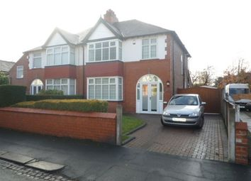 Thumbnail 3 bed semi-detached house to rent in Fownhope Road, Sale, 4Rf.