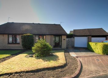 Thumbnail 2 bed bungalow for sale in Lapwing Close, South Beach Estate, Blyth