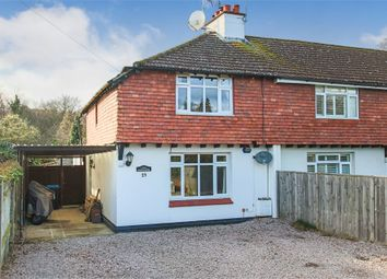 Thumbnail 3 bed semi-detached house for sale in 23 Rowplatt Lane, Felbridge, Surrey