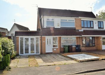 Thumbnail 3 bed semi-detached house to rent in Glebe Close, Maghull, Liverpool