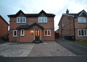 Thumbnail 2 bed semi-detached house for sale in Dewberry Close, Tyldesley, Manchester