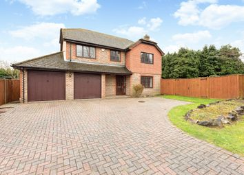 Thumbnail 4 bed detached house for sale in Spring Cross Avenue, Blackwater, Camberley