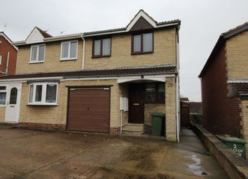 Thumbnail 3 bed semi-detached house to rent in Hill Top Close, Fitzwilliam, Pontefract