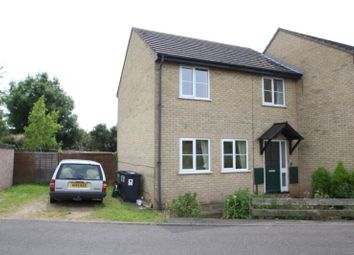 Thumbnail 3 bedroom semi-detached house to rent in North Street, Huntingdon