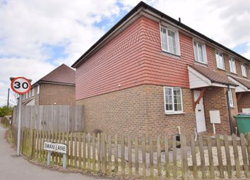 Thumbnail 3 bed terraced house to rent in The Chestnuts, Main Road, Ashford