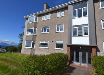 Thumbnail 2 bedroom flat for sale in Overton Crescent, West Kilbride