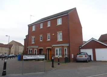Thumbnail 4 bedroom property to rent in Worsdell Close, Ipswich