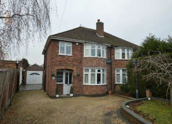 Thumbnail 3 bed semi-detached house for sale in Grove Road, Blaby, Leicester