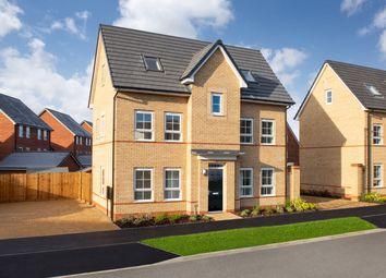 "Thumbnail 4 bed detached house for sale in ""Hexley"" at Carters Lane, Kiln Farm, Milton Keynes"