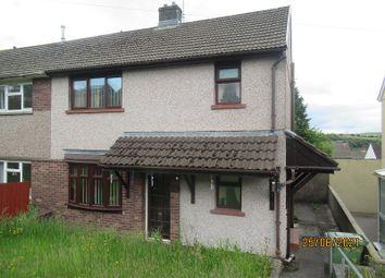 Thumbnail 3 bed semi-detached house for sale in Heol Tyllwyd, Tonyrefail, Rhondda Cynon Taff.