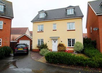 Thumbnail 6 bed detached house for sale in Century Drive, Kesgrave, Ipswich