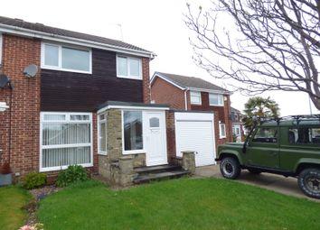 Thumbnail Semi-detached house for sale in Augustus Drive, Bedlington