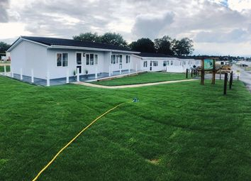 Thumbnail 2 bed detached bungalow for sale in Marsh Road, Broadlands Holiday Park & Marina, Oulton Broad