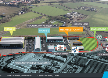 Thumbnail Industrial to let in Broadhelm Business Park, Pocklington