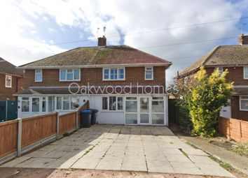 Thumbnail 3 bed semi-detached house for sale in Grafton Road, St Peters, Broadstairs