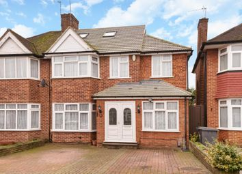 Thumbnail 5 bed semi-detached house for sale in Francklyn Gardens, Edgware