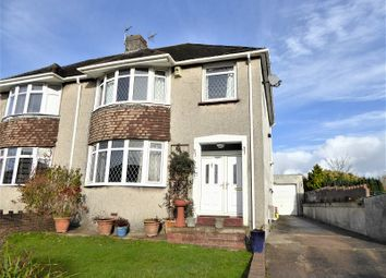 Thumbnail 3 bed semi-detached house for sale in Brynawel, Bridgend
