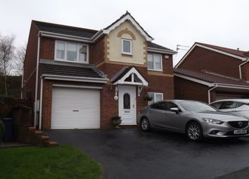 Thumbnail 4 bed detached house to rent in Beacon Glade, South Shields