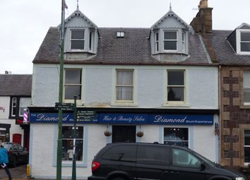 Thumbnail 3 bed flat for sale in High Street, Biggar