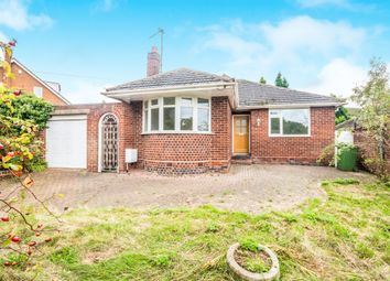 Thumbnail 2 bedroom detached bungalow for sale in Cartbridge Lane, Walsall