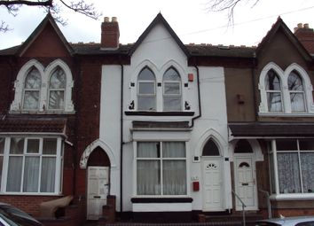 Thumbnail 3 bed terraced house to rent in Woodland Road, Birmingham