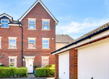 Thumbnail 4 bed town house for sale in Benham Drive, Spencers Wood, Berkshire
