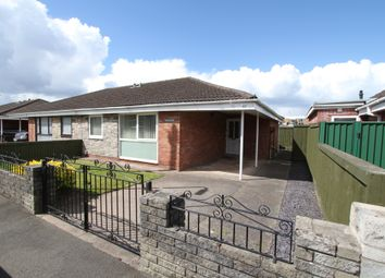 Thumbnail 3 bed semi-detached bungalow for sale in Fosse Road, Newport