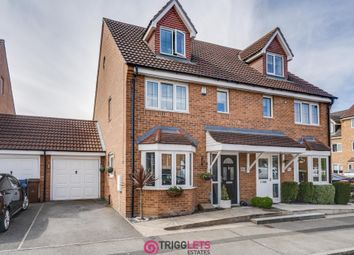 Thumbnail 3 bed semi-detached house for sale in Kingfisher Drive, Wombwell, Barnsley