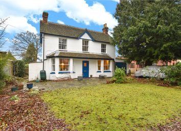 Thumbnail 4 bed detached house for sale in Vicarage Road, Yateley, Hampshire