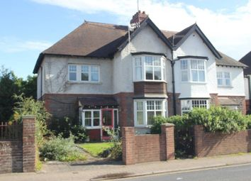 Thumbnail 4 bed semi-detached house for sale in Hereford Road, Abergavenny