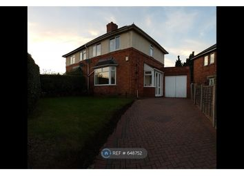 Thumbnail 3 bed semi-detached house to rent in Summerlee Road, Birmingham