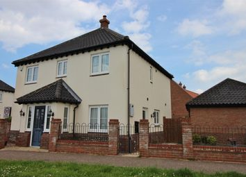 Thumbnail 4 bedroom detached house for sale in Waters Lane, Hemsby, Great Yarmouth