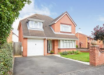 Thumbnail 4 bed detached house for sale in Turnbury Close, Branston, Burton-On-Trent