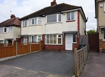 Thumbnail 2 bed semi-detached house for sale in Widney Avenue, Selly Oak, Birmingham