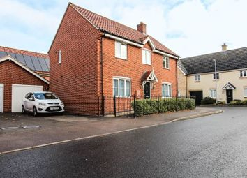 Thumbnail 4 bed detached house for sale in Gimbert Road, Soham, Ely