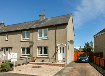 Thumbnail 2 bed end terrace house for sale in Listloaning Road, Linlithgow Bridge, Linlithgow