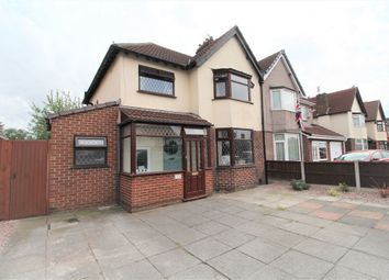 Thumbnail 3 bed semi-detached house for sale in Higher Road, Halewood, Liverpool, Merseyside