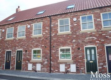 Thumbnail 3 bed terraced house for sale in High Street/Printing Office Lane, Crowle, Scunthorpe