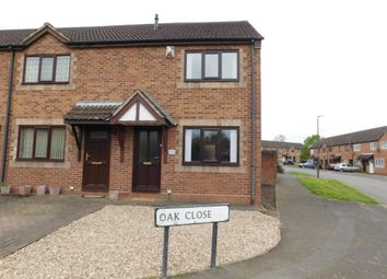 Thumbnail 2 bed end terrace house for sale in Oak Close, Castle Gresley